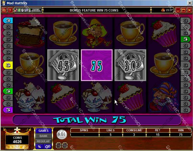 zeus casino slot game image