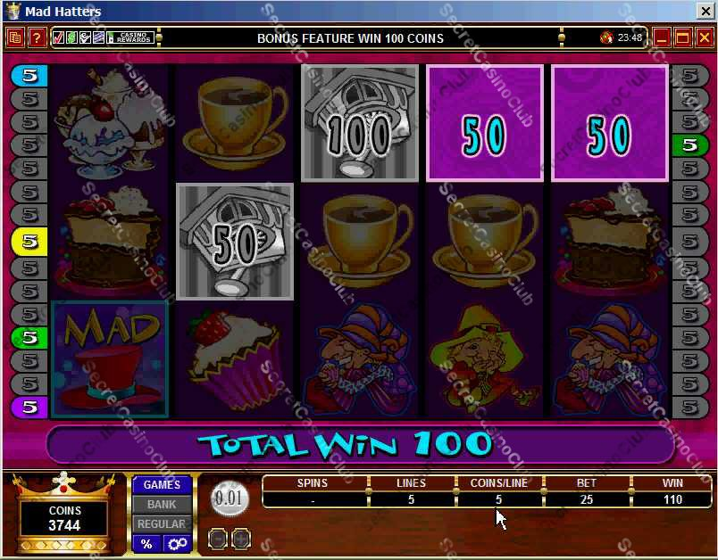 jackpot party casino slot discs