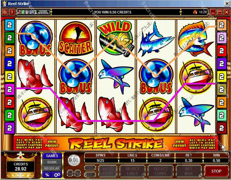 online casino slot fast money